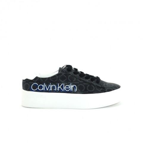 Calvin Klein Janika black logo woman sneakers