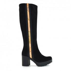 Alviero Martini ZI026 geo black boots