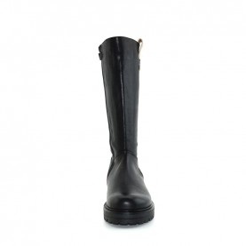 Alviero Martini N0457 black leather boots