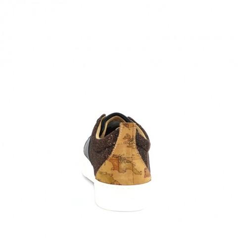 Alviero Martini 10367 black taupe sneakers