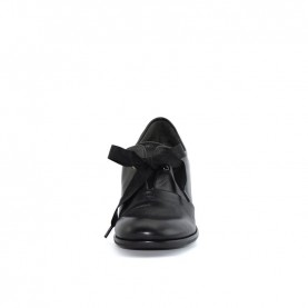 Lilimill 6739 woman black lace ups shoes