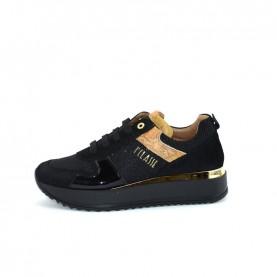 Alviero Martini N0418 black glitter sneakers
