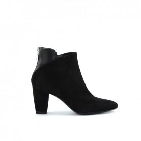 Tiffi S112/70 black suede ankle boots