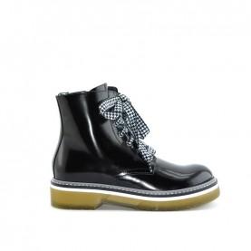 Morelli 50562 black combact boots