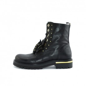 Morelli 50630 black combact boots