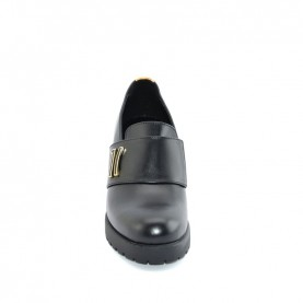 Alviero Martini ZA245 black heels loafer