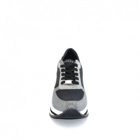 Apepazza R0RSD08 black glitter woman sneakers