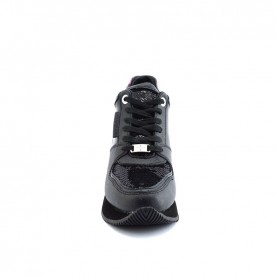 Apepazza F0HIGHRUN06 black woman sneakers