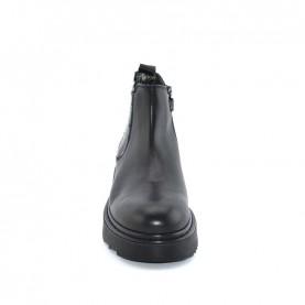 Morelli 51141 black beatles boots with paillettes
