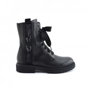Morelli 51098 black combact boots
