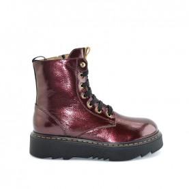 Alviero Martini N0820 bordeaux lace ups ankle boots