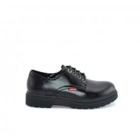 Levi's Pub lace ups shoes black