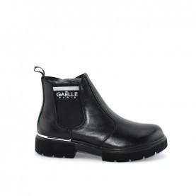 Gaelle G-472 black chelsea boots