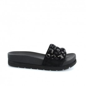 Apepazza MMI04 black woman slippers