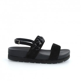 Apepazza MMI05 black woman sandals
