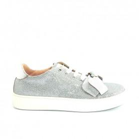 Morelli 00686 silver glitter sneakers