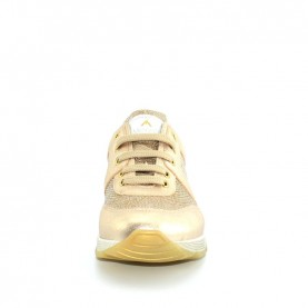 Morelli 00728 platinum glitter sneakers