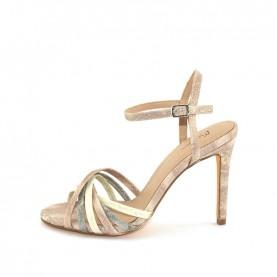 Menbur 20201 nude high heels sandals
