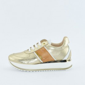 Alviero Martini N0283 platinum sneakers
