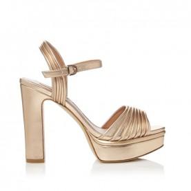 Barachini CC233Z peach high heels sandals