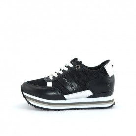 Apepazza RSD33 black woman sneakers