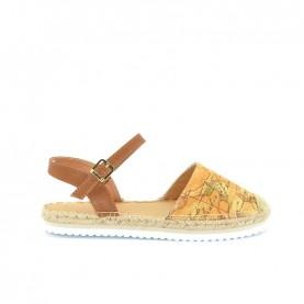 Alviero Martini 10234 geo beige espadrillas sandal