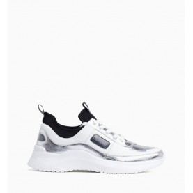 Calvin Klein Ultra silver woman sneakers