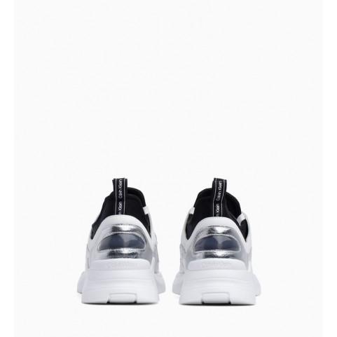 Calvin Klein Ultra silver woman sneakers