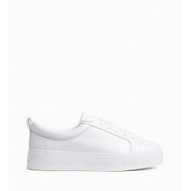 Calvin Klein Jaelee white woman sneakers