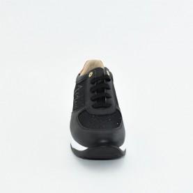Alviero Martini N0629 black glitter sneakers
