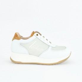 Alviero Martini N0628 white gitter sneakers