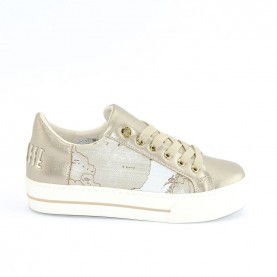 Alviero Martini 10553 woman sneakers mirra geo safari lamè