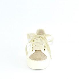 Alviero Martini 10552 woman sneakers white powder pink glitter