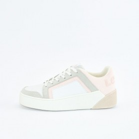 Levi's Mullet 2.0 white and pink sneakers