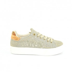 Alviero Martini 10550 woman sneakers platinum glitter