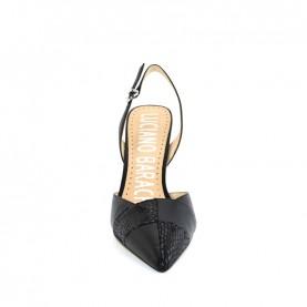 Barachini EE303B black high heels chanel