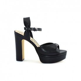 Barachini EE173S black high heels sandals