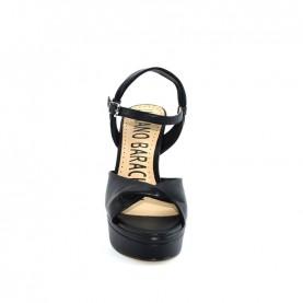 Barachini EE173S black high heels sandals