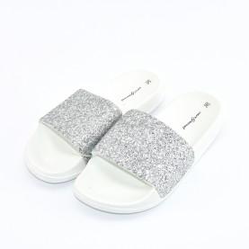 Hot sand 03176 glitter white silver