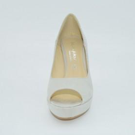 Byblos Blu classic heels starlight grey
