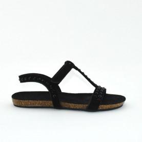Taddeucci 43475 black sandals