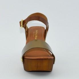 Byblos 662306 woman sandals bronze