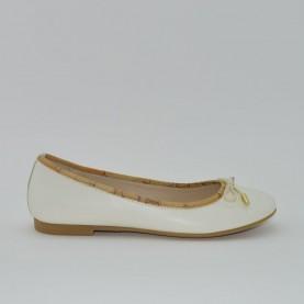 Alviero Martini N1821 girl falt shoes milk