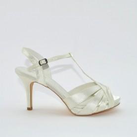 Menbur 6263 004 ivory sandal