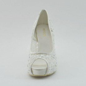 Menbur 5337 004 ivory open toe