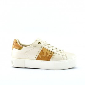 Alviero Martini 10879 platinum sneakers
