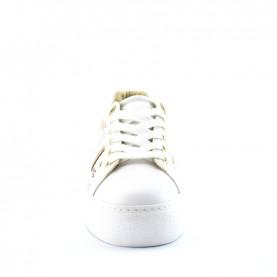 Alviero Martini 10882 white geo safari lamè sneakers