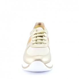 Alviero Martini N0930 platinum geo sneakers