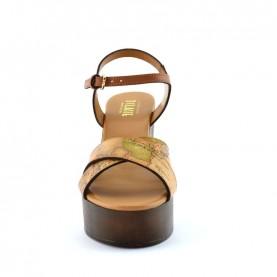 Alviero Martini E383 geo classic heels sandals