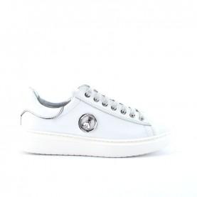 Patrizia Pepe PPJ52 sneakers white silver